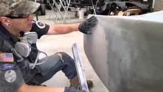 Block Sanding Tips - Sandra's 1965 Mustang 2+2 Fastback - Day 89 Part 2