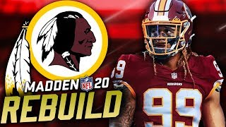 Chase Young Washington Redskins Rebuild | Madden 20 Franchise