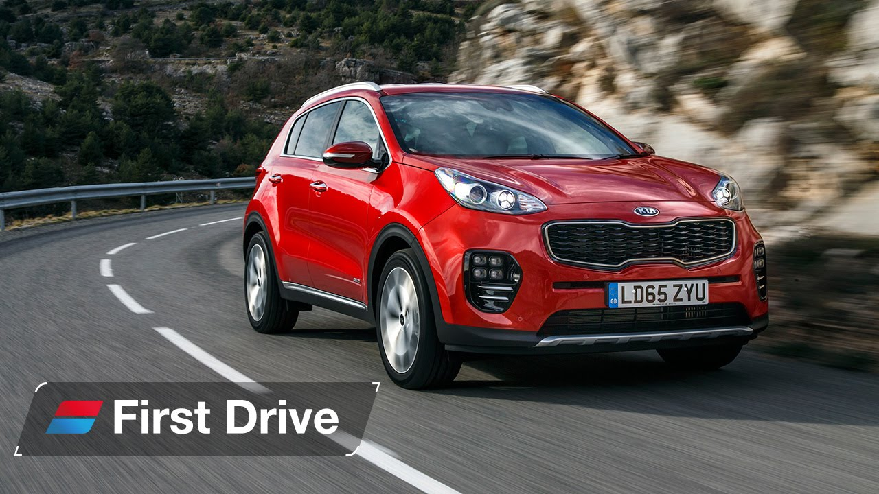 2016 Kia Sportage first drive review - YouTube