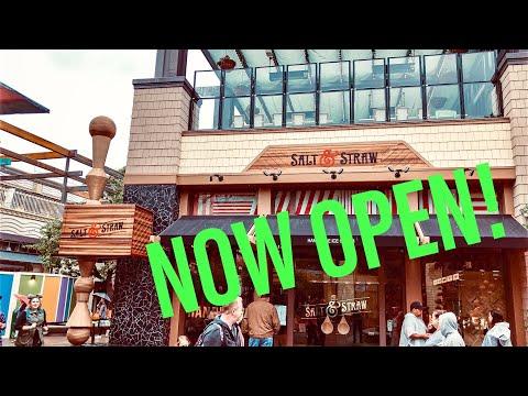 Maui - Portland's Salt & Straw Ice Cream Opens At Disneyland