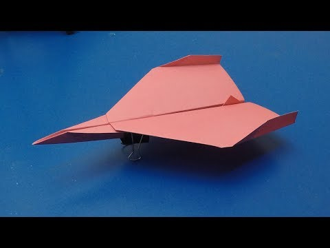 Paper Aeroplane: Best Flying Origami Airplane - Craft Times
