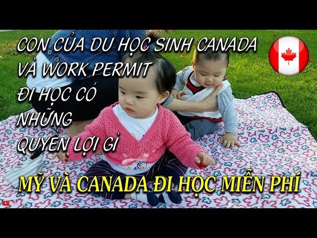 🇺🇸🇨🇦Trẻ em ở Mỹ Canada đi học không tốn tiền, không mua sách giáo khoa | Quang Lê TV #135