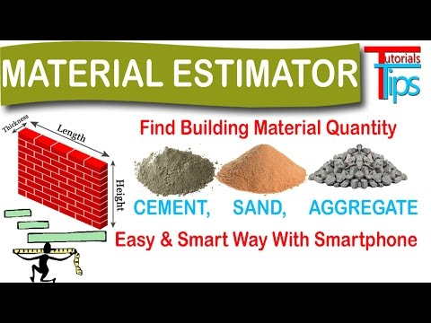 How to Calculate Cement, Sand and Aggregate Quantity in Concrete   Eastimate Engineer   Hindi