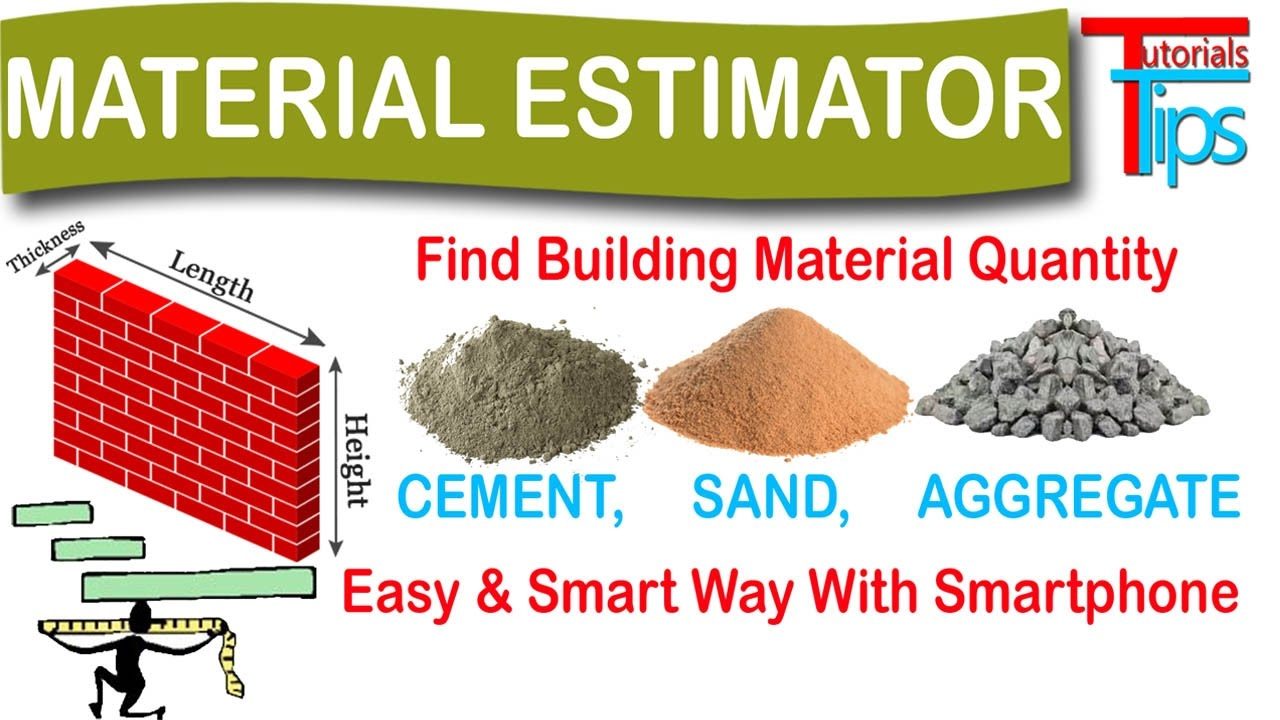 How To Calculate Cement Sand And Aggregate Quantity In