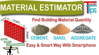 how to calculate cement sand and aggregate quantity in concrete   eastimate engineer   hindi