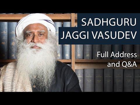 Sadhguru Jaggi Vasudev | Full Talk at Oxford Union