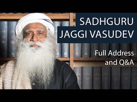 Sadhguru Jaggi Vasudev | Full Address & Q&A | Oxford Union