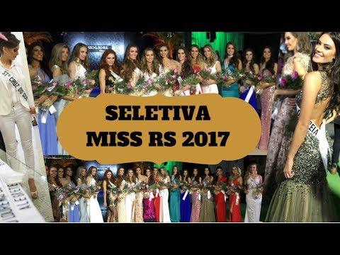 Seletiva: Miss Rio Grande do Sul 2017┃Backstage┃Resultado┃Finalistas┃BE Emotion