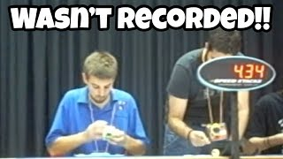 This Solve Changed Cubing Forever And Wasn't Recorded!! (World Record) thumbnail