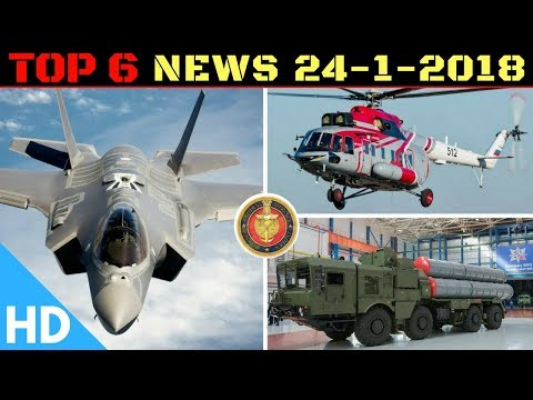 Indian Defence Updates : Indian Air Force F-35 New Order,S400 India Deal Fails,48 Mi-17V5, ISRO Tech