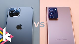 iPhone 12 Pro Max vs Note 20 Ultra - Was ist besser?