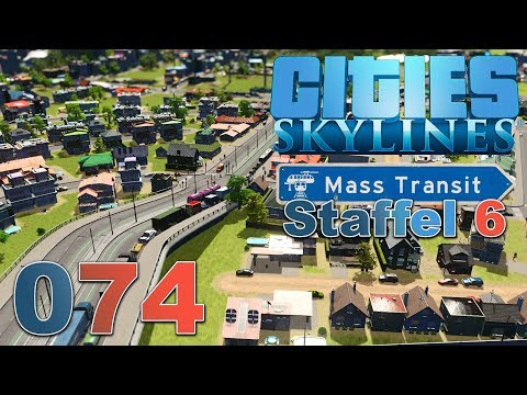 Grandios unscharf 🏙 [S6 074] Let's Play Cities Skylines Mass Transit DLC