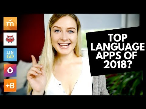 THE TOP 5 LANGUAGE APPS OF 2018 — MY HONEST REVIEW!