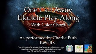 Video One Call Away Ukulele Play Along download MP3, 3GP, MP4, WEBM, AVI, FLV Juni 2018