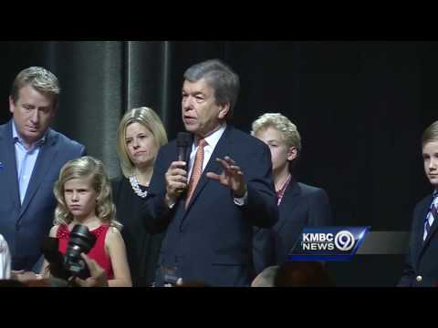 Re-elected Missouri Sen. Roy Blunt gives acceptance speech