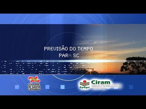 16/09/2015 - Previsão do Tempo para SC