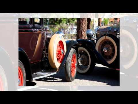 The San Fernando Valley Model A Club private tour of Oakridge Estate