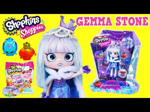 Gemma Stone Shopkins Shoppies Special Limited Edition Season 6 Surprise Egg and Toy Collector SETC