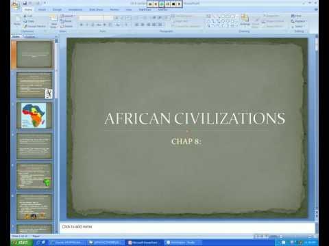 AP World - Ch 8 (Part 1) - African Civilizations.avi