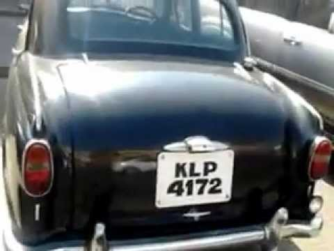 Kerala Reg Ambassador Car In Dubai Youtube