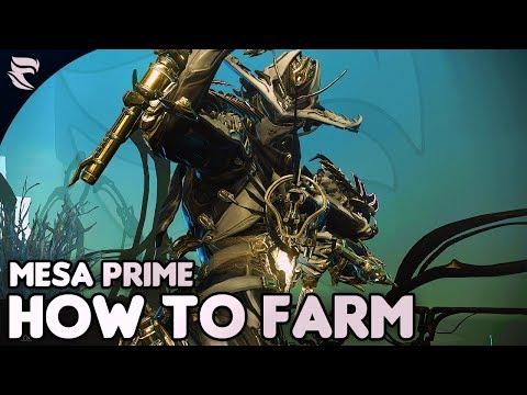 Warframe: How To Farm Mesa Prime thumbnail