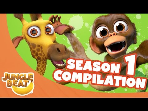 Jungle Beat Season One Compilation [Full Episodes]
