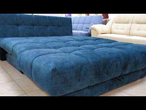 НОВИНКА!Крутой диван-кровать ПРАЙМ. Механизм: аккордеон (фабрика мебели PODUSHE)