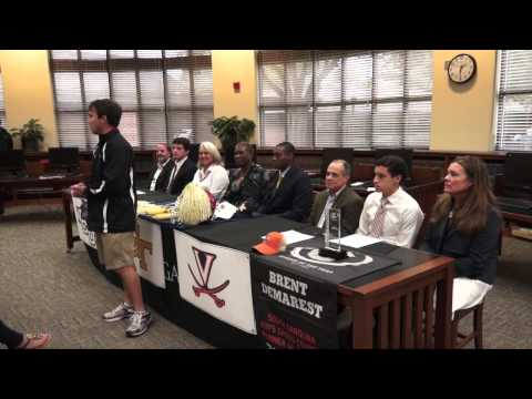 Three Porter-Gaud Cyclones Sign Letters of Intent