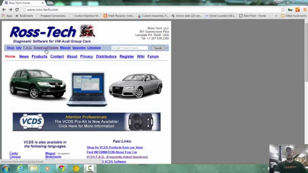 Tutorial How To Download Ross-Tech VCDS and Install and setup - YouTube