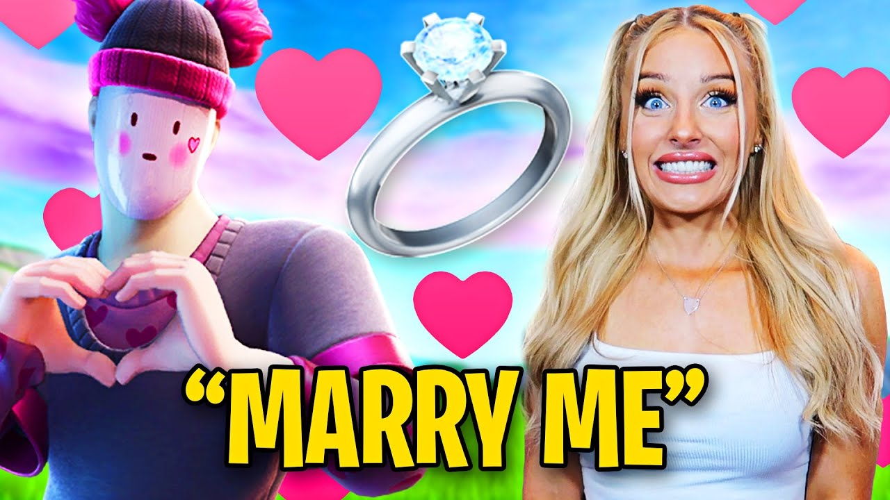 My DUO asked me to MARRY HIM in Fortnite *I SAID YES*