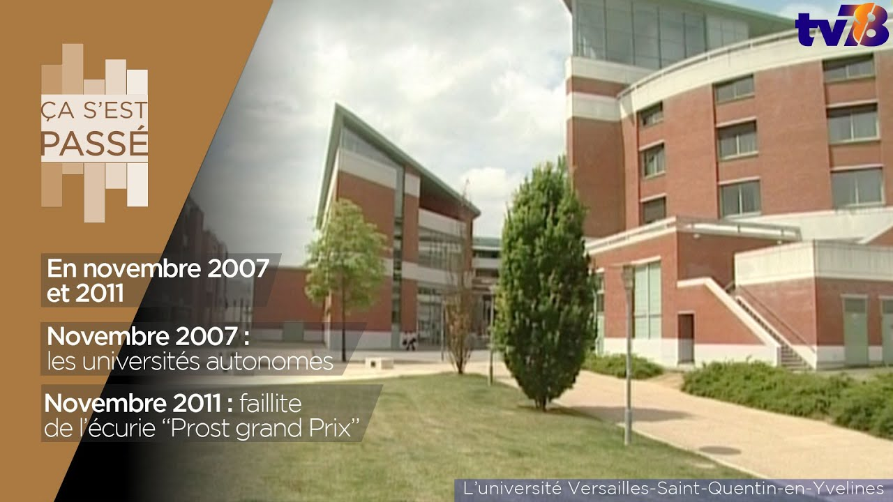 Ça s'est passé… en novembre 2007 et 2001