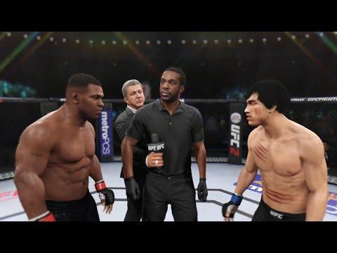 Mike Tyson Vs. Bruce Lee (EA Sports UFC 2) - Boxing Stars