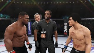 Download Mike Tyson vs. Bruce Lee (EA Sports UFC 2) - Boxing Stars Mp3 and Videos