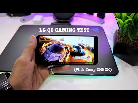 LG Q6 Gaming Test- A SURPRISE PACKAGE !!