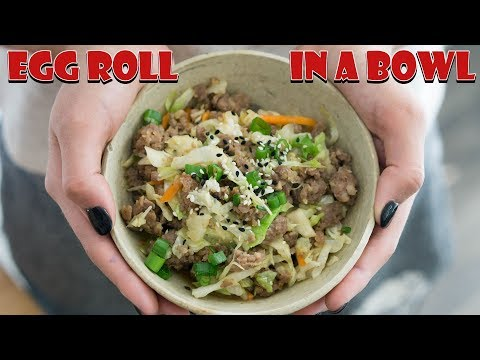 keto-egg-roll-in-a-bowl-|-1-pot-dinner!