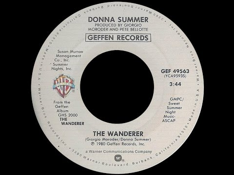 Donna Summer ~ The Wanderer 1980 Disco Purrfection Version
