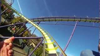 Medusa Six Flags Vallejo, CA with GoPro HD HERO 3 Black Edition 12/19/12 Discovery Kingdom 1080p