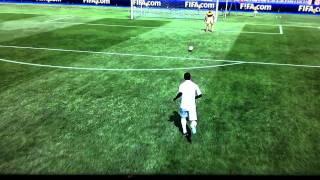 Trick shot Fifa 12