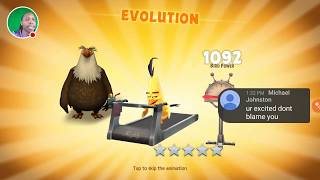 0 to 60 Chuck (Fast Evolve) - Angry Birds Evolution
