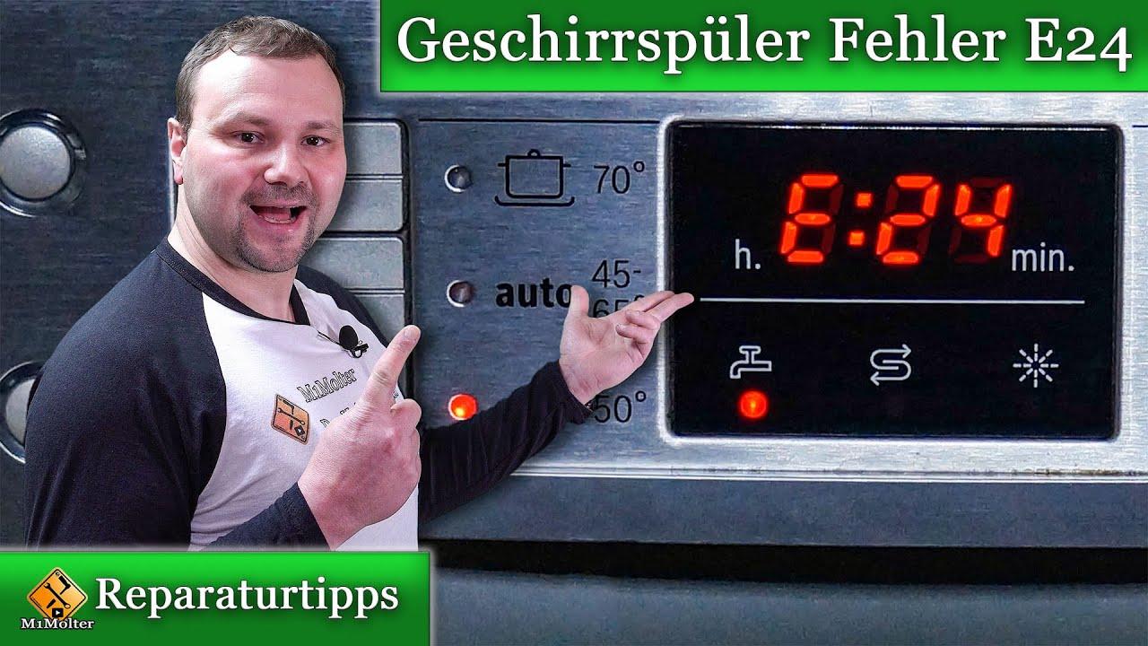 bosch spülmaschine fehler e15 beheben