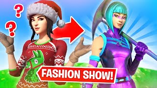 Fortnite | Fashion Show! Skin Competition! *MOST COLORFUL DRIP* & EMOTES WINS! [5/8]