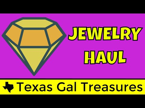 Live Jewelry Haul - Vintage Jewelry  - How I Make Money Selling Online