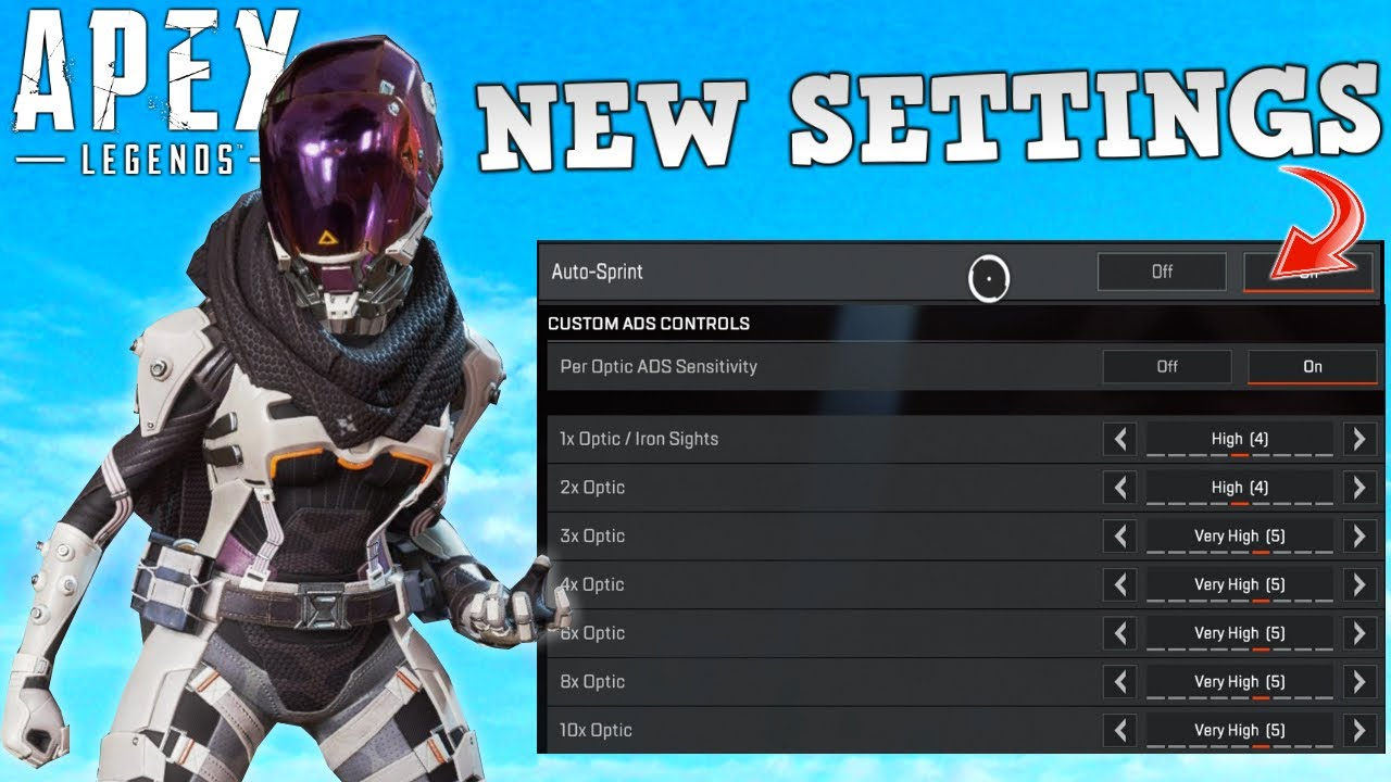 New Apex Settings that Console NEEDED are finally here!