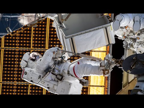 International Space Station Spacewalk, June 26, 2020