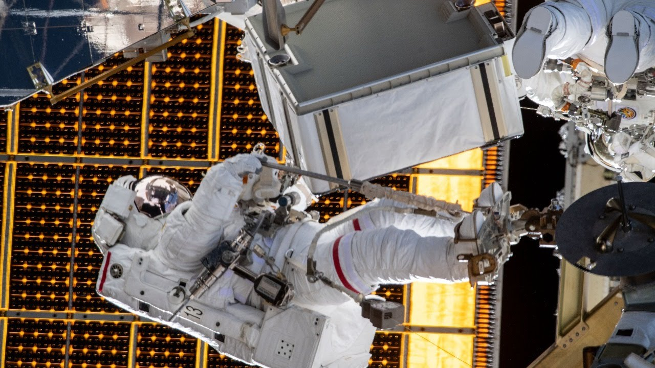 International Space Station Spacewalk, June 26, 2020 - NASA