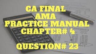 Каліфорнія остаточної | АМА | практика ручного рішення | АМА - костинг | Розділ 4 | q ні 23 рішення