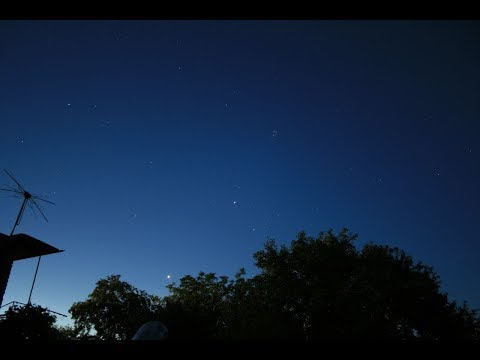 Почему ночью на небе не видно звезд?