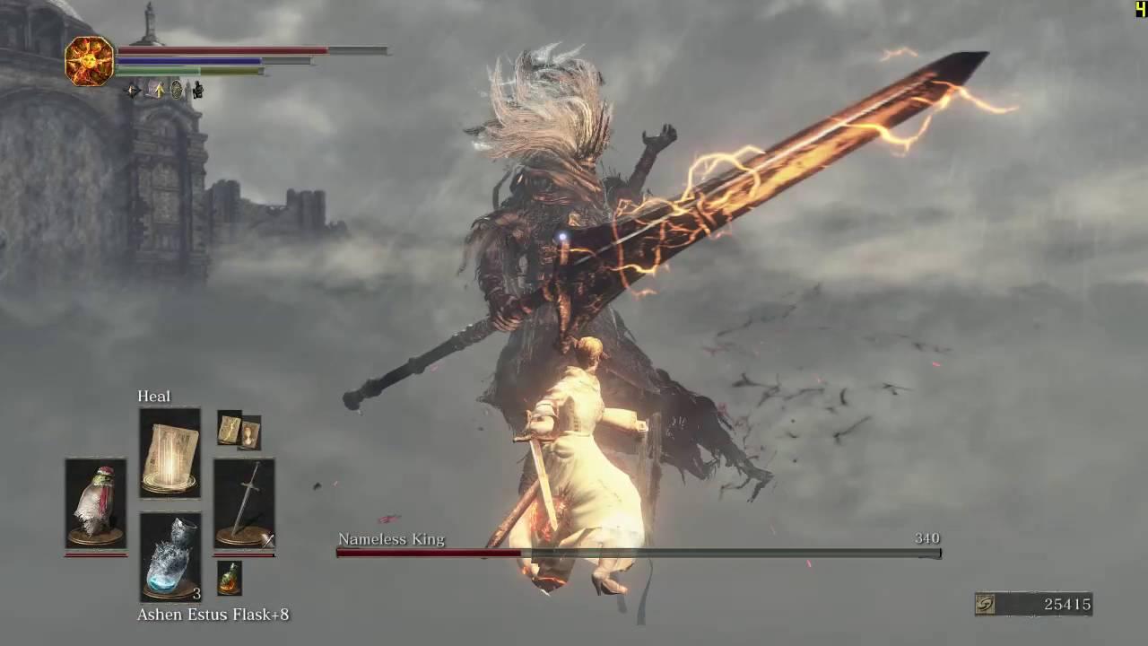 [Dark Souls 3] Pure Faith vs Nameless King (Lv79, 60 Faith)