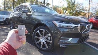 2018 Volvo XC60 Inscription: Start Up, Test Drive, Walkaround and Review