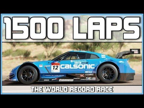 Forza Horizon 3 - THE 1500 LAP RACE - 2 NEW WORLD RECORDS
